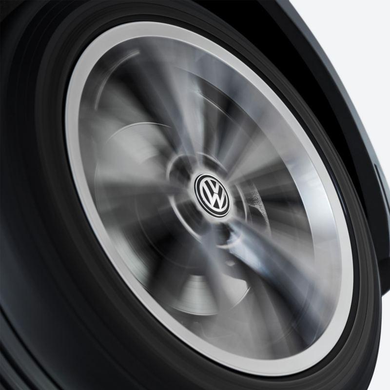 Kampanjpris på Volkswagen Original dynamiska navkapslar som inte snurrar