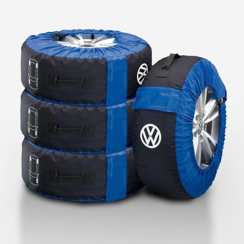 Kampanjpris på Volkswagen Original hjulförvaringsset