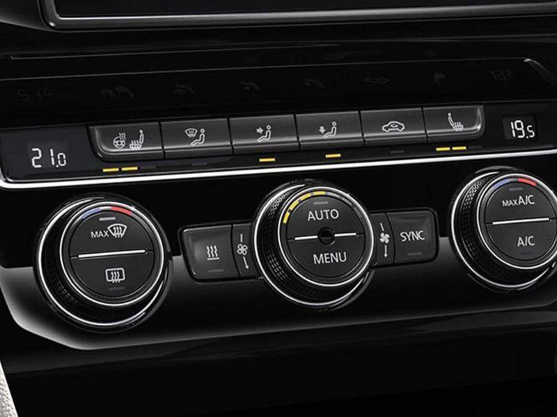 Volkswagen Passat aire acondicionado Climatronic