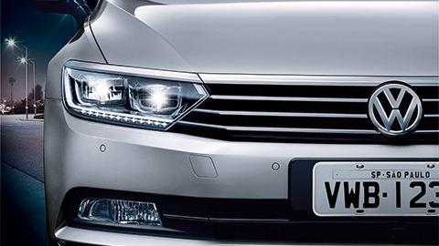 Volkswagen Passat Faros en tecnología LED