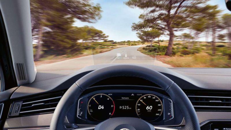 Volkswagen Passat Head Up Display