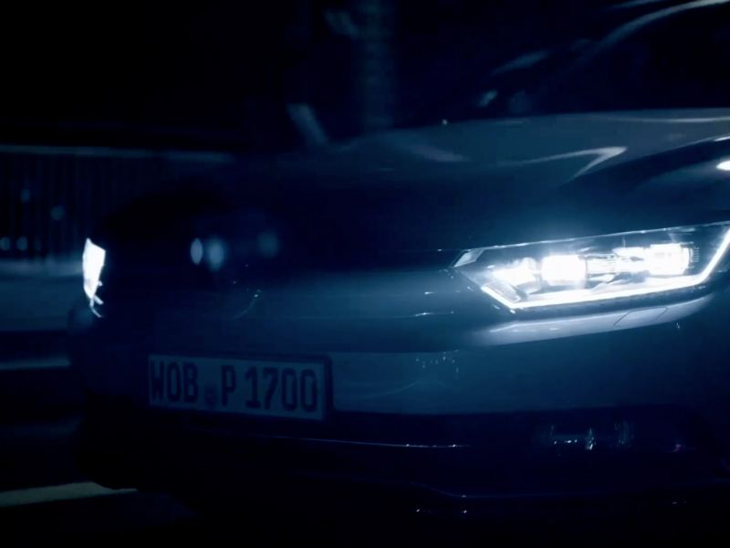 Volkswagen Passat Leaving Home