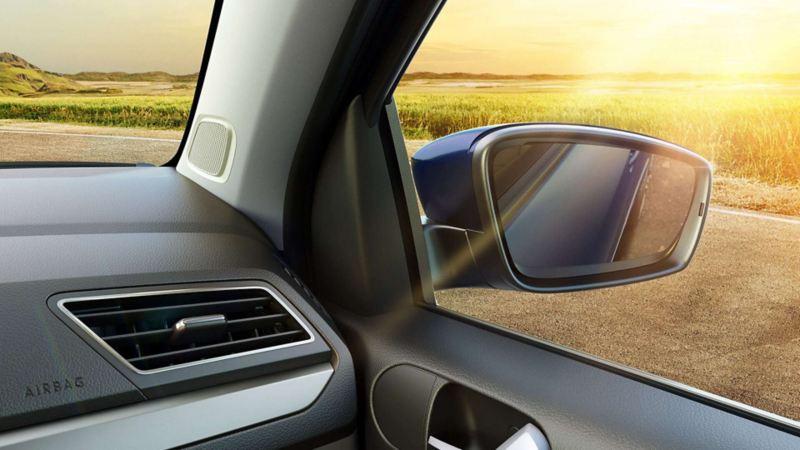 Volkswagen Saveiro Retrovisores Tilt down