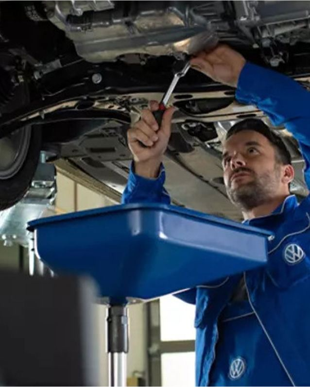 Volkswagen service workshop engineering