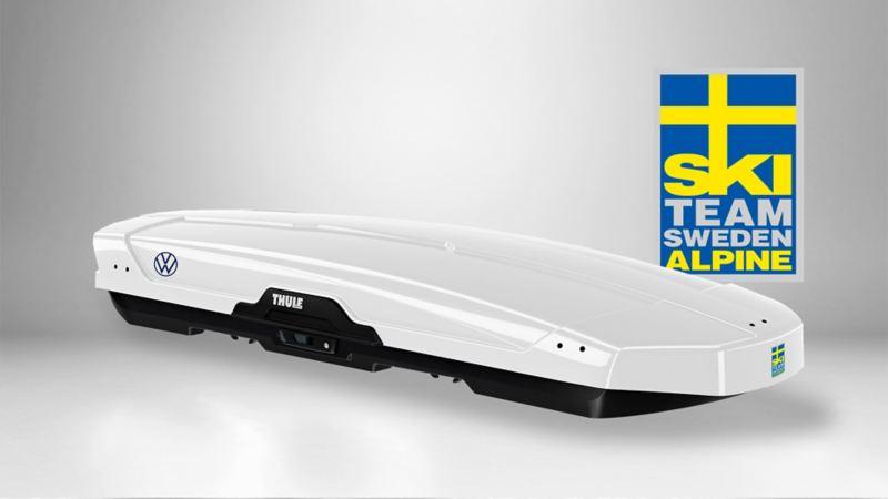 Volkswagen SkiTeam takbox från Thule till kampanjpris