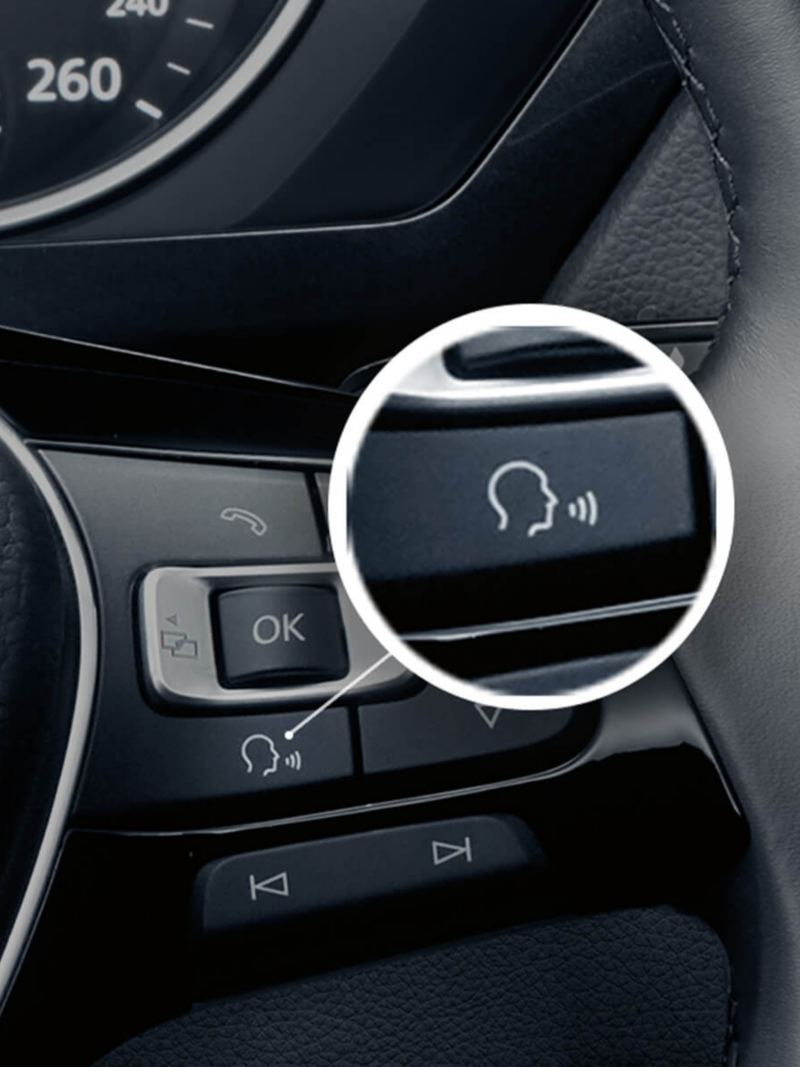 Volkswagen Tiguan Voice Control