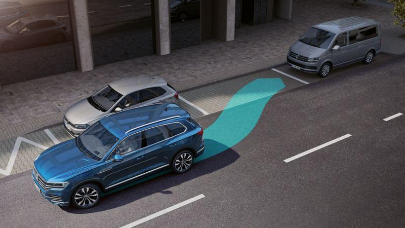 Volkswagen Touareg asistente de aparcamiento