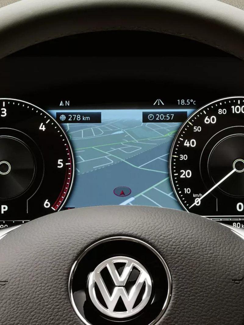 Volkswagen Touareg Info Display