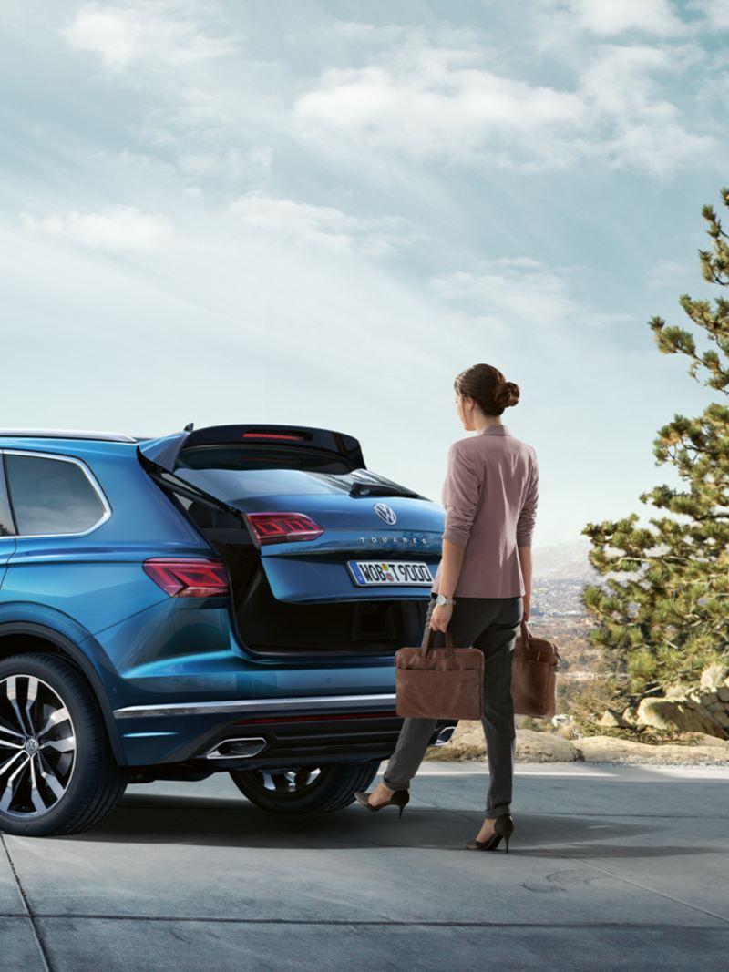 Volkswagen Touareg Puertas Inteligentes