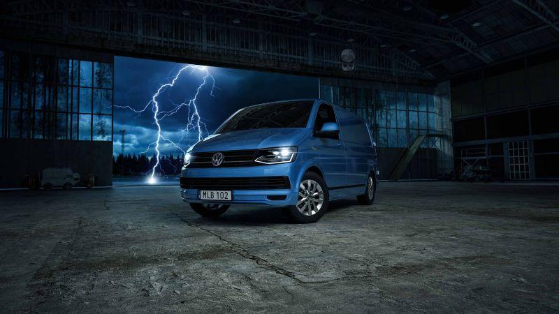 VW ABT e-Transporter eldriven skåpbil