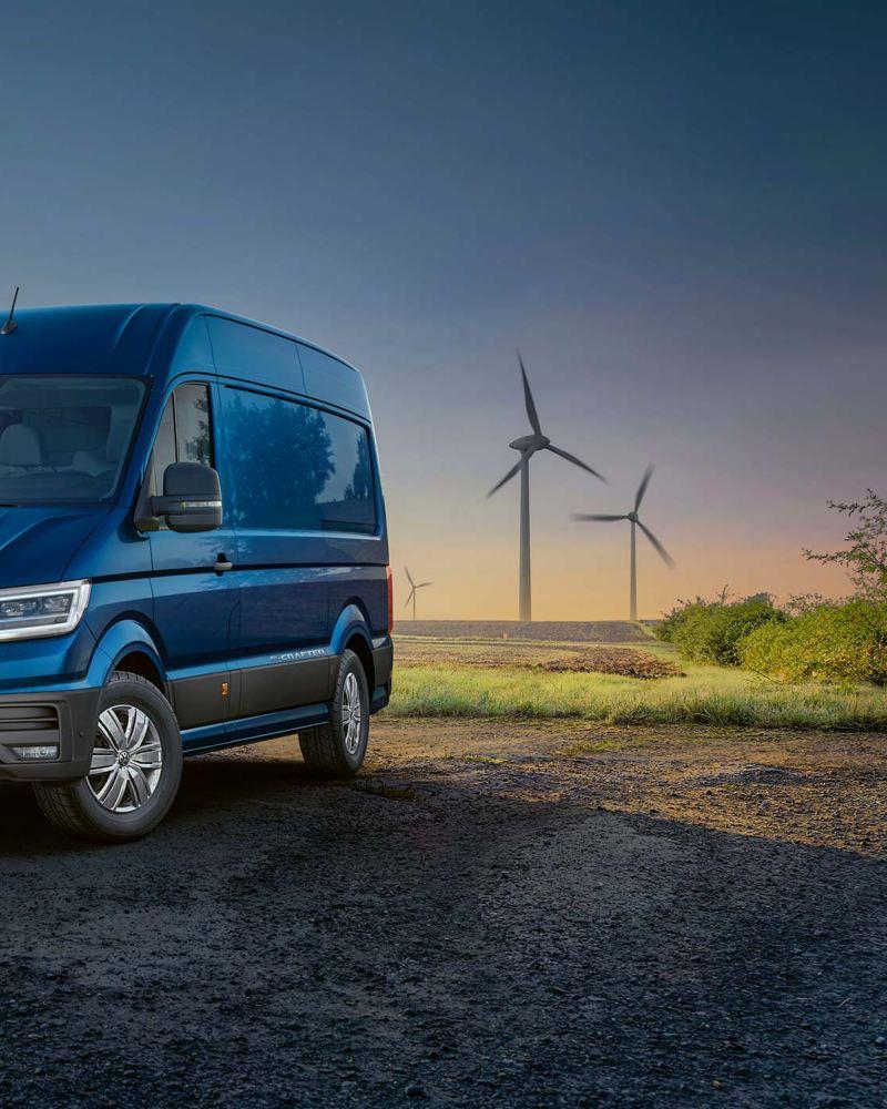 VW e-Crafter lätt lastbil elbil
