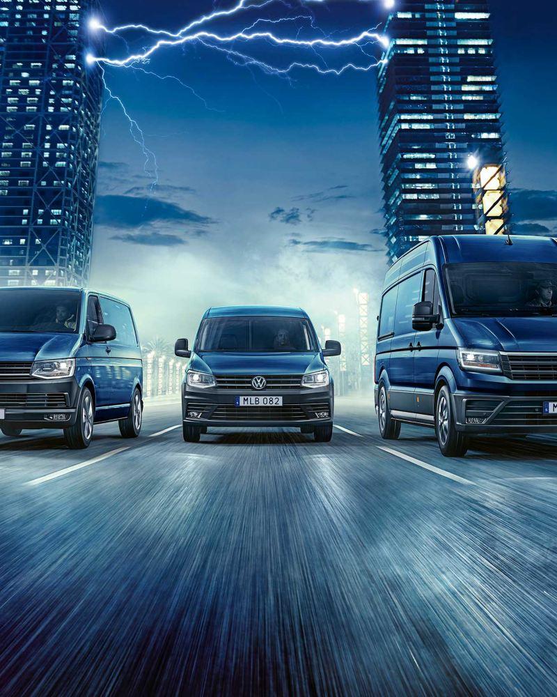 Volkswagen Transportbilars elbilar