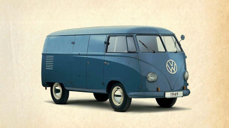 Volkswagen Transporter T1 gammal folkabuss
