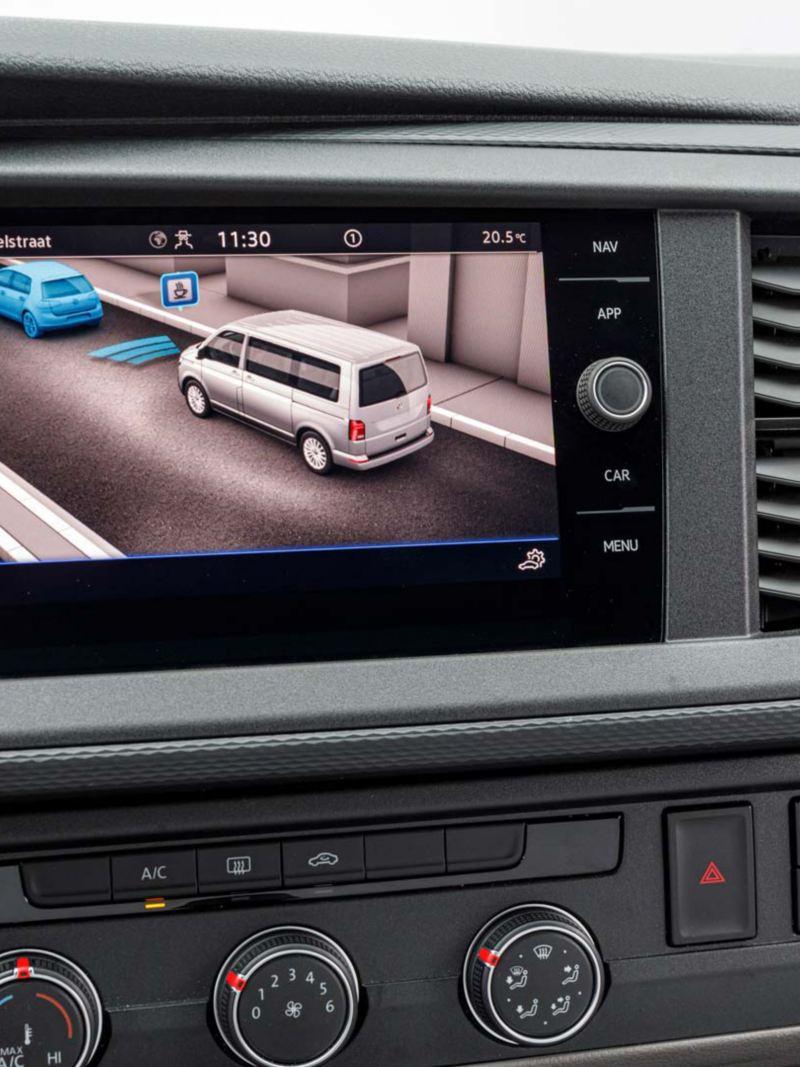 Uppdaterad infotainment i nya VW Transporter Skåp T6.1