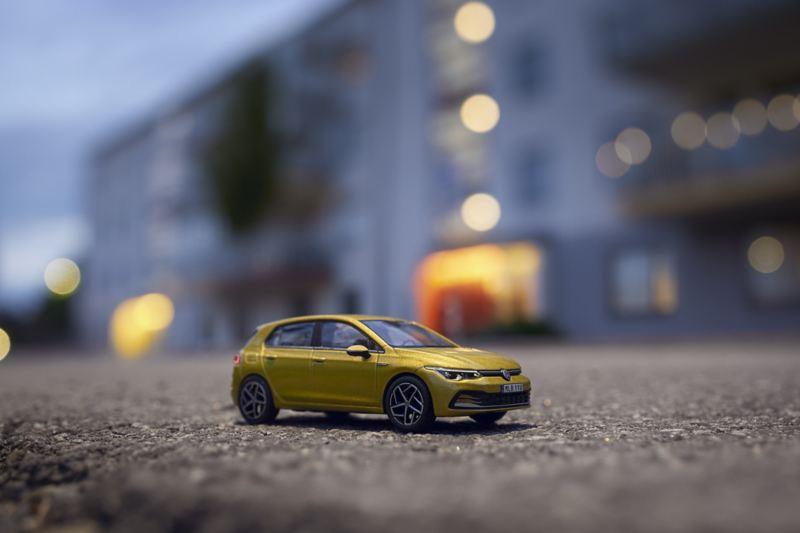 Volkswagen nya Golf 1:43