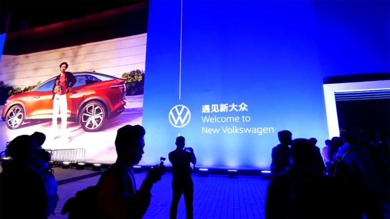 Preview Image of the Video New Volkswagen: People at a fair