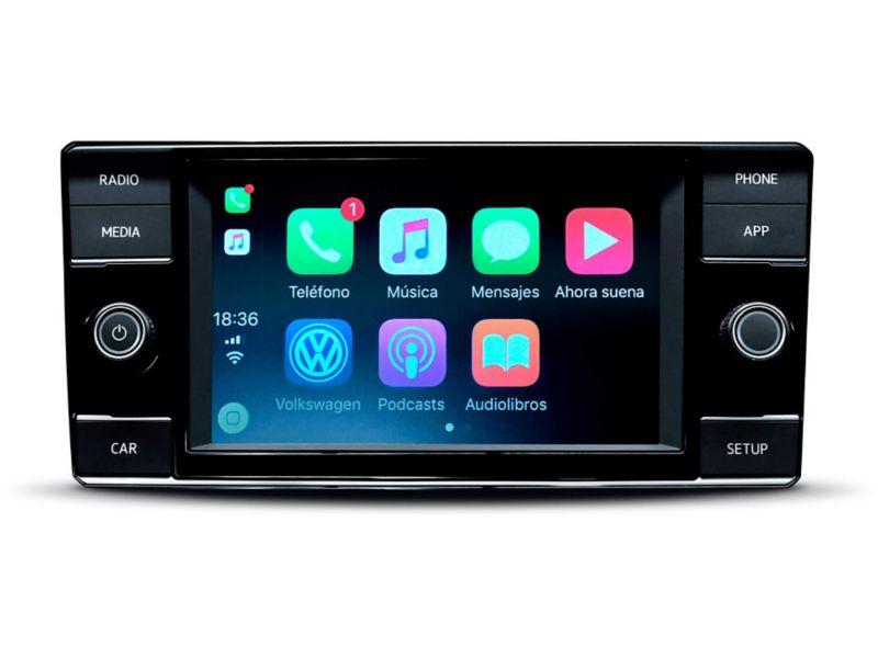 Volkswagen T Cross - SUV equipado con radio con pantalla
