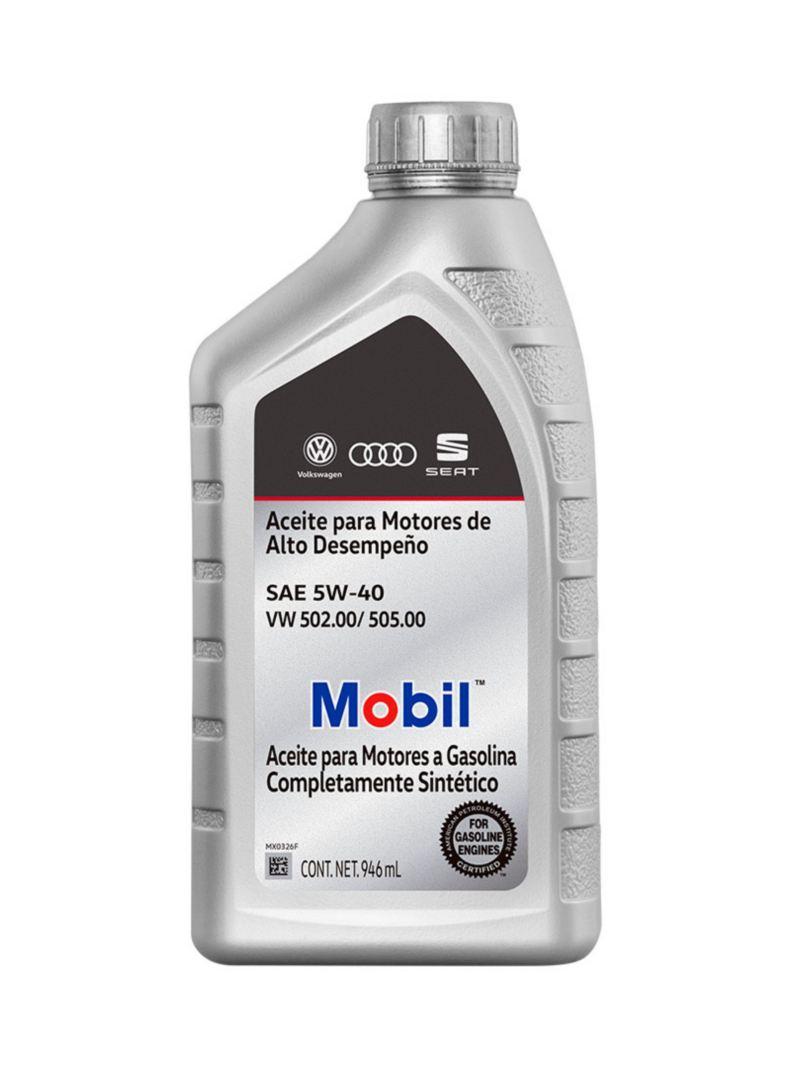 Aceite Original Volkswagen para motores de alto desempeño para mejor ahorro de combustible