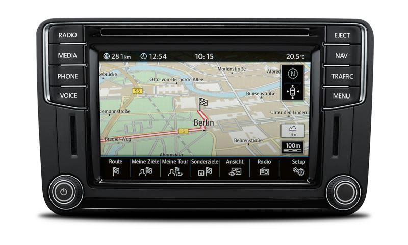 Ein Navigationssystem.