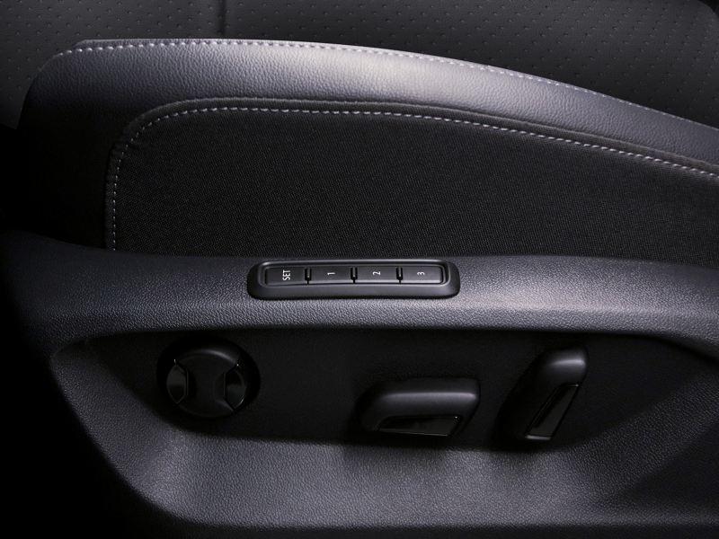 Asiento  de conductor eléctrico con memoria en Teramont 2019, el SUV de Volkswagen