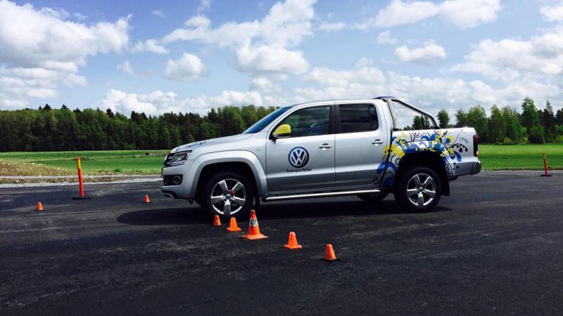 Volkswagen Amarok i Blue Driving & Safety förarutbildning