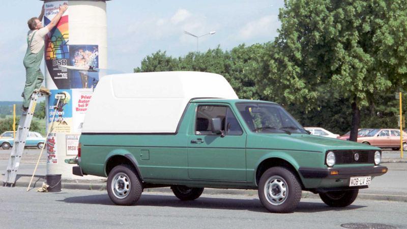 Volkswagen Caddy skåpbil generation 1