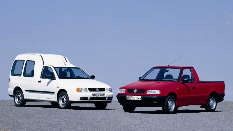 Volkswagen Caddy skåpbil generation 2