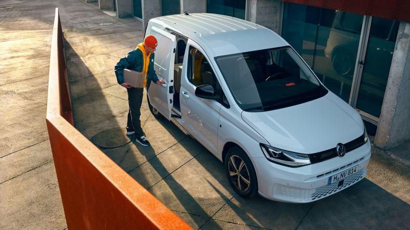 Nye vw Volkswagen Caddy 5 Cargo liten varebil budbil håndverker elektriker rørlegger forhåndsbestilling