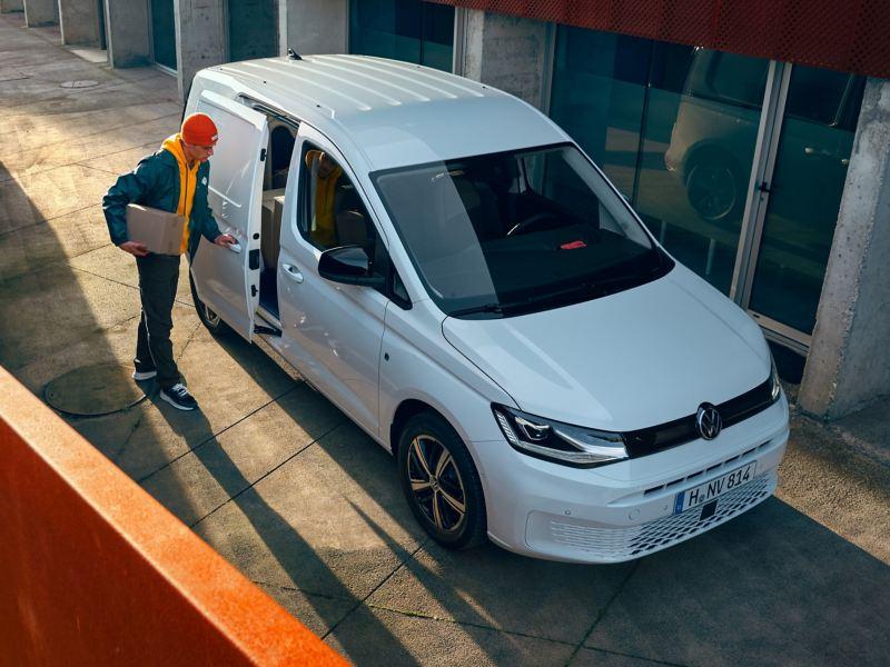 O novo Volkswagen Caddy Cargo enquanto carrinha de transporte