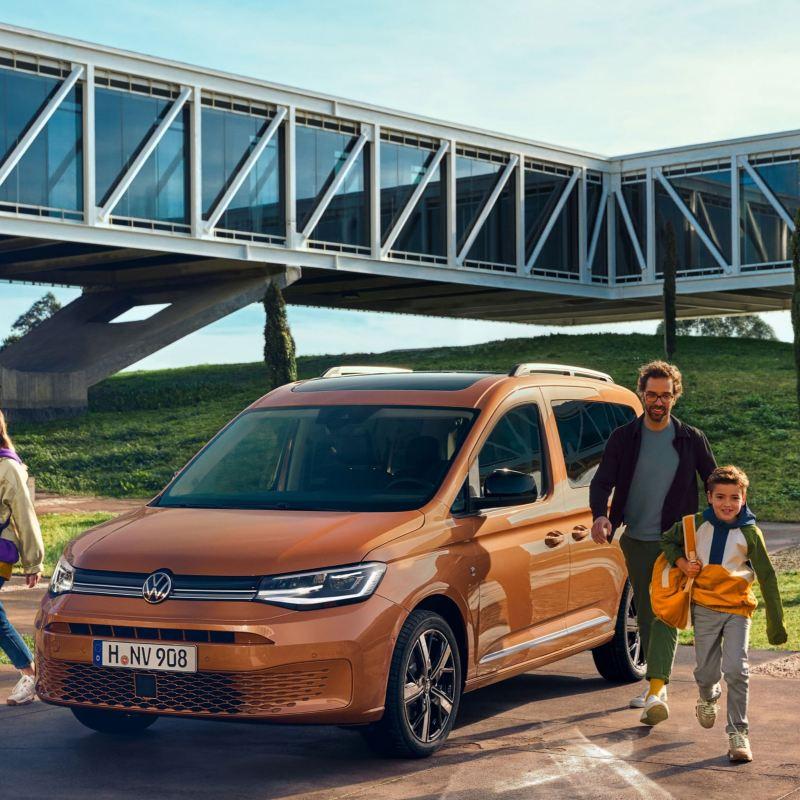 vw Volkswagen nye Caddy 5 Maxi varebil familiebil verdenspremiere kommende bilmodeller 2020
