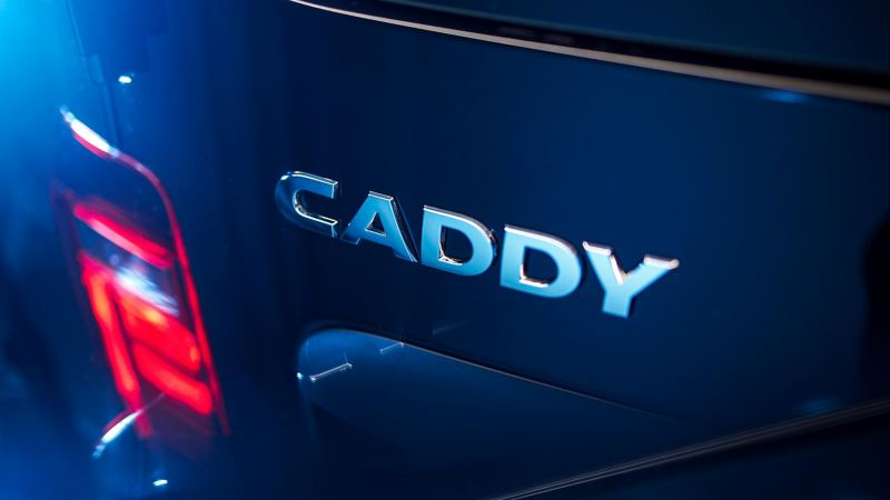 VW Caddy emblem