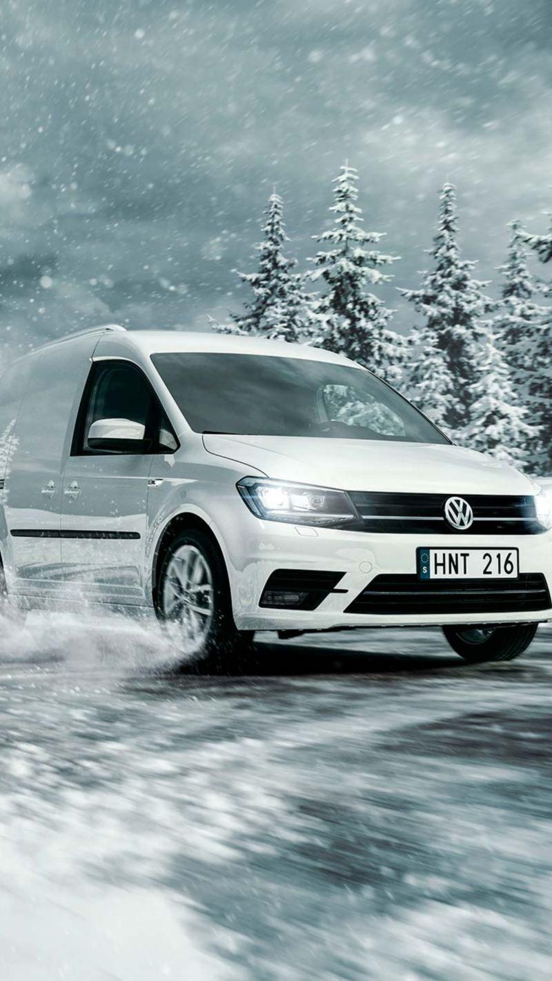 Volkswagen Caddy Skåp med 4MOTION fyrhjulsdrift