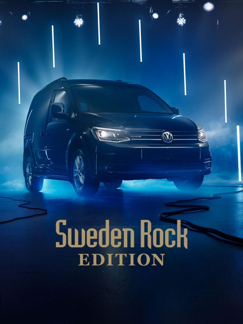 VW Caddy Skåp Sweden Rock Edition