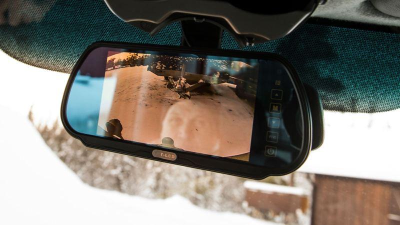 Utrustningsdetaljer, VW Crafter backspegel