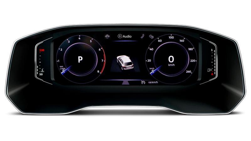 Digital Cockpit es un avance tecnológico presente en el SUV Tiguan de Volkswagen