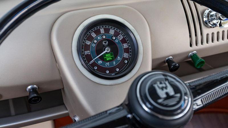 VW e-BULLI elbil instrumentpanel