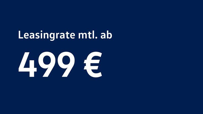 Der e-Crafter zum leasen ab 499 € monatlich.