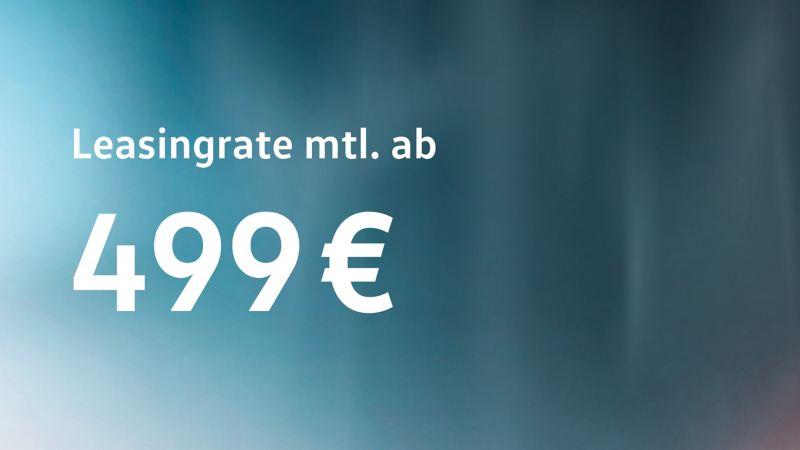 Den Volkswagen e-Crafter jetzt ab 499 € monatlich leasen.
