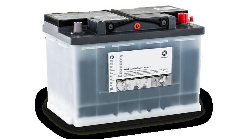 Akumulator rozruchowy Economy Lead-Calcium.