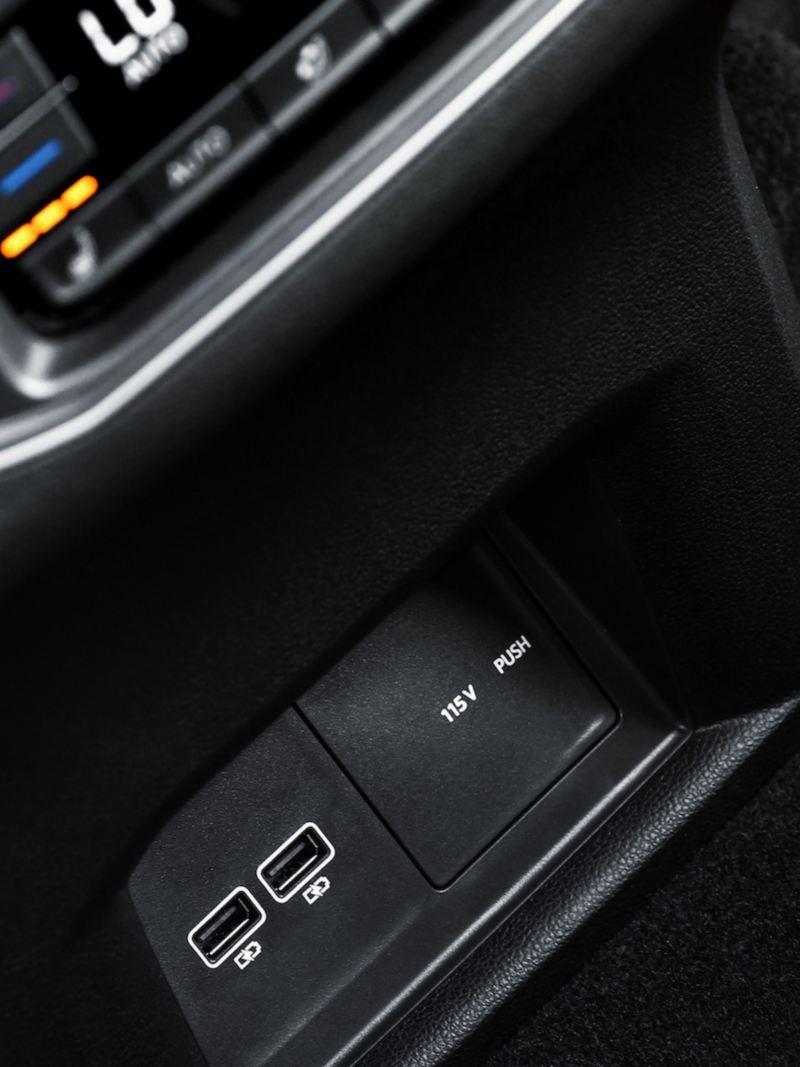 Asientos calefactables en piel equipados en SUV Teramont 2019 de Volkswagen