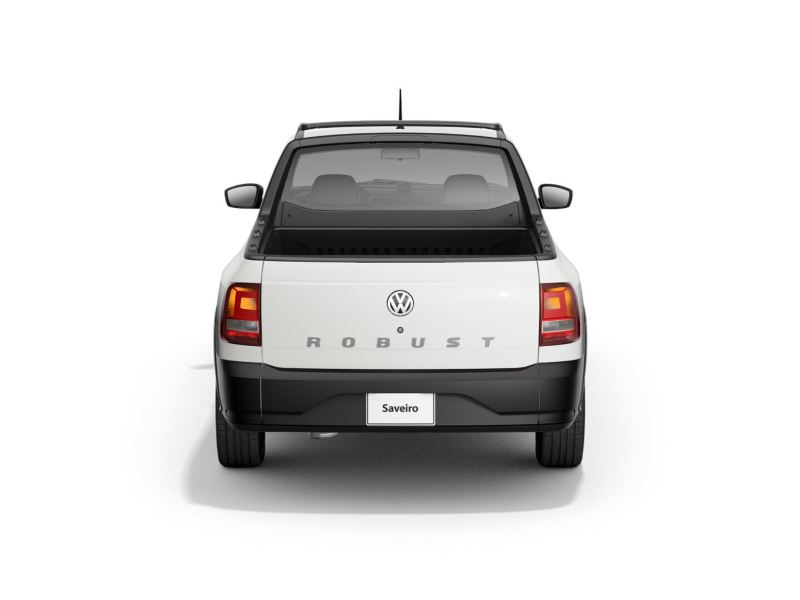 Fascias resistentes de Saveiro Volkswagen para uso rudo
