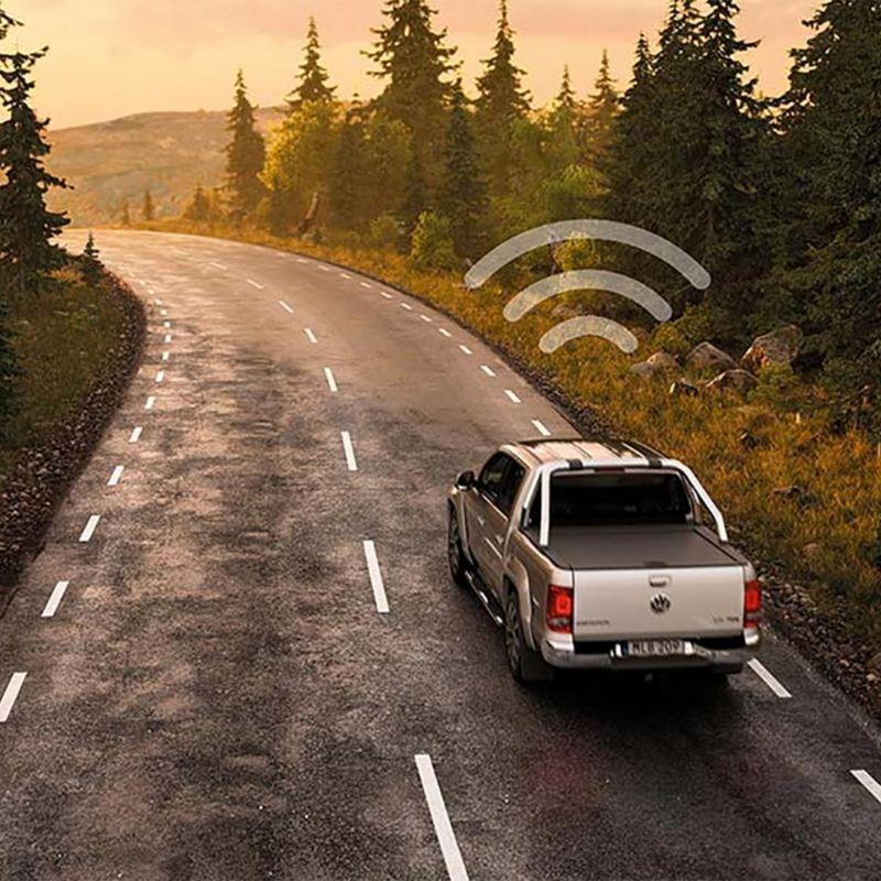 Amarok med VW Fleet Connect