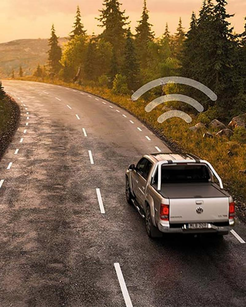 Amarok med VW Fleet Connect