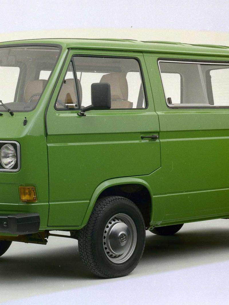Volkswagen T3 Folkabuss grön
