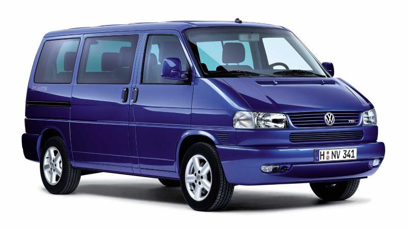 Volkswagen T4 Folkabuss blå