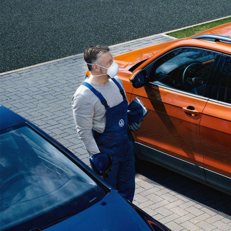 Carros en Servicio de Mantenimiento con la garantía de Volkswagen durante contingencia por COVID-19