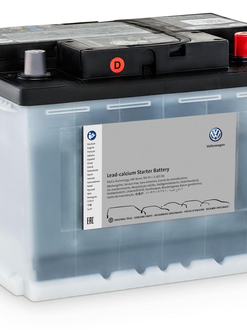 Oryginalny akumulator rozruchowy Lead Calcium.