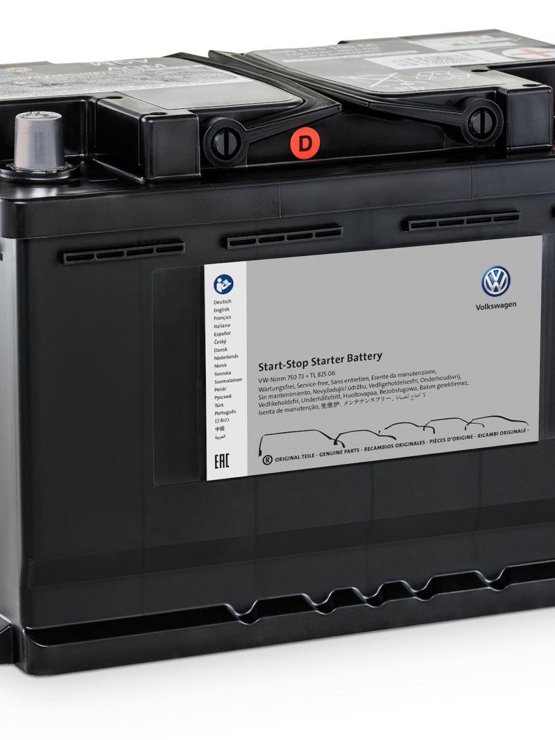 Oryginalny akumulator rozruchowy Start-Stop AGM.