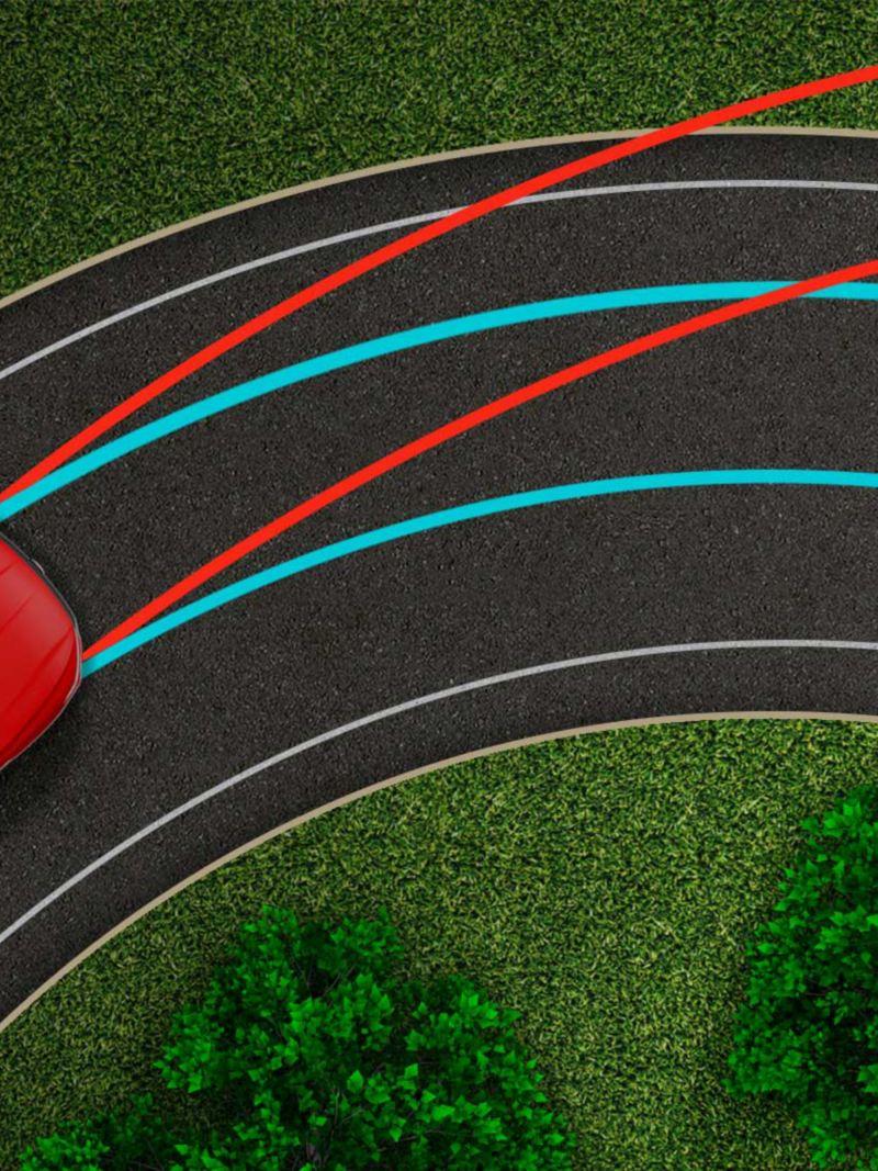Bloqueo deportivo del diferencial presente en el Jetta GLI 2021 de Volkswagen