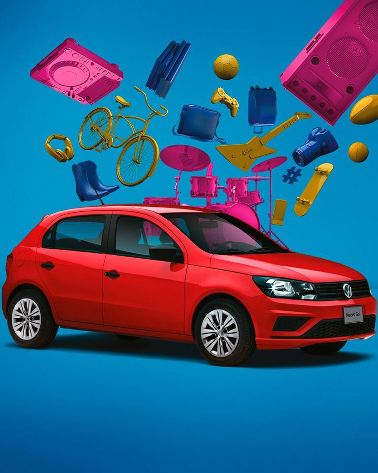 Gol 2020 de Volkswagen - Auto Compacto con excelente rendimiento de combustible